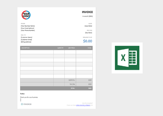 Simple Receipt Template from invoice.ng