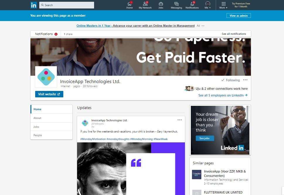 invoiceapp-linkedin-company-page