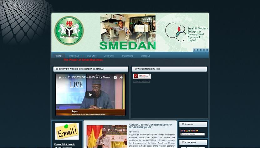 smedan nigeria website