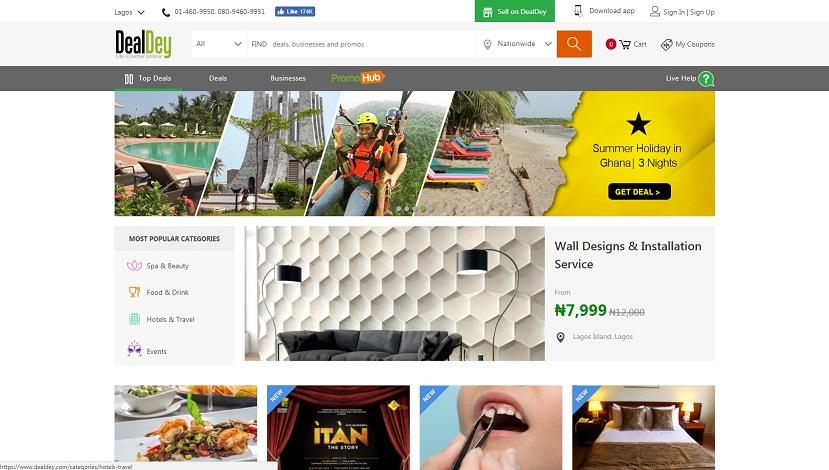 dealday nigeria website