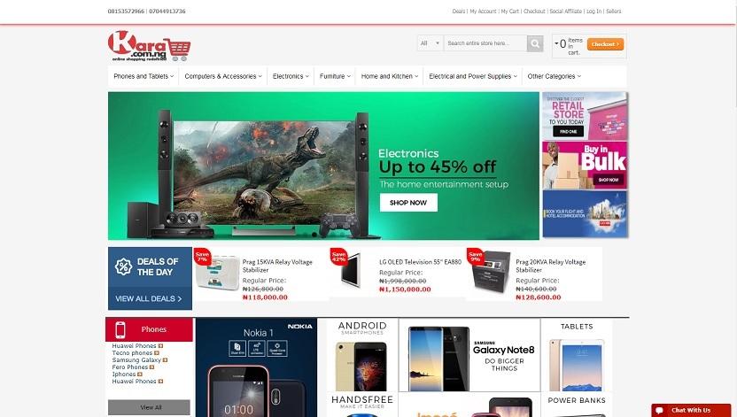 kara nigeria website