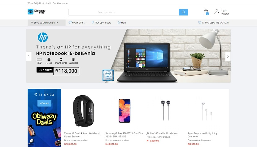 obiwezy.com ecommerce website nigeria