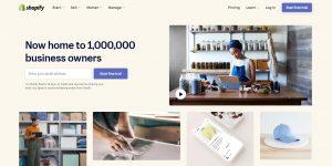 shopify website builder for businesses