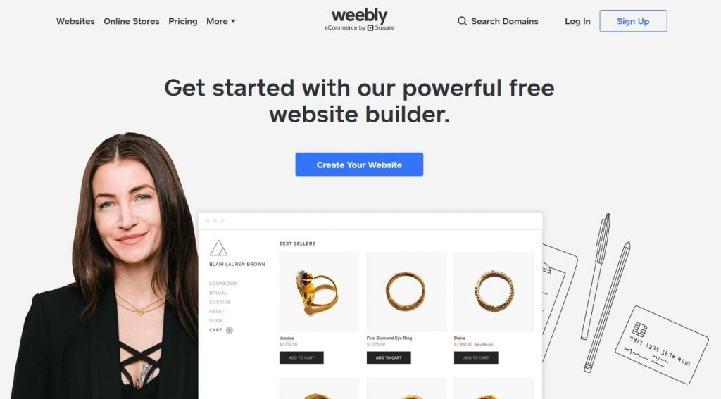 weebly website builder for businesses