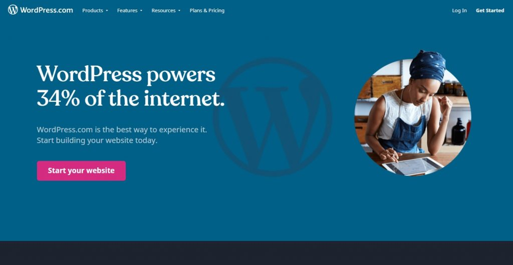 wordpress website for small business